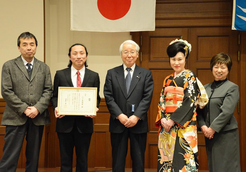 兵庫クリエイティブグランプリ授賞式
