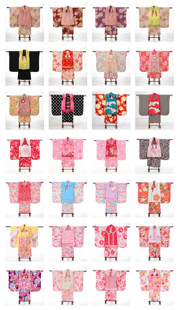 Kimono Catalogue » 七五三【3歳女児】