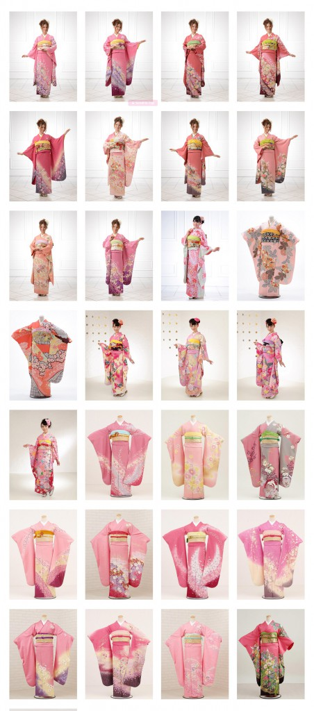 Kimono Catalogue » 成人式振袖未【ピンク系】