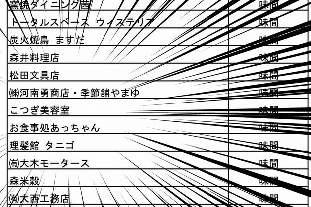 集中線付き取扱サムネイル画像